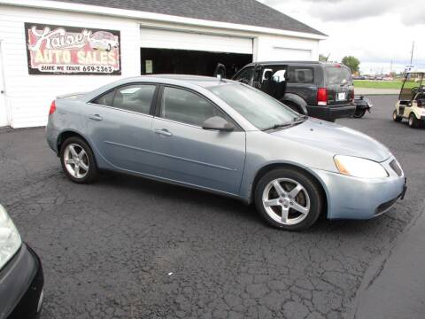 2008 Pontiac G6 for sale at KAISER AUTO SALES in Spencer WI