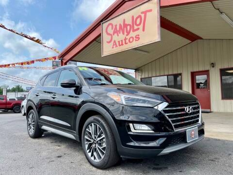 2019 Hyundai Tucson for sale at Sandlot Autos in Tyler TX