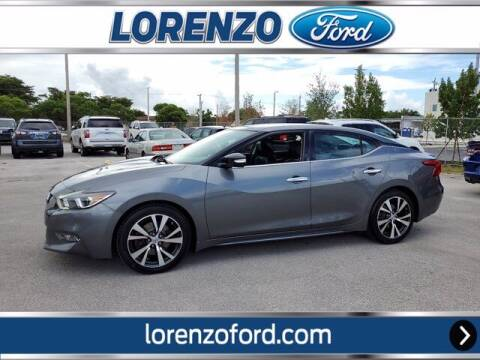 2017 Nissan Maxima for sale at Lorenzo Ford in Homestead FL