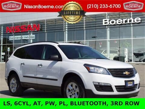 2016 Chevrolet Traverse for sale at Nissan of Boerne in Boerne TX