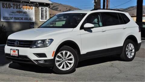 2018 Volkswagen Tiguan for sale at AMC Auto Sales, Inc. in Fremont CA