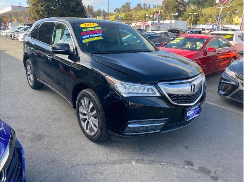 2014 Acura MDX for sale at AutoDeals in Hayward CA