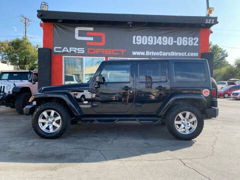 2011 Jeep Wrangler Unlimited for sale at Cars Direct in Ontario CA