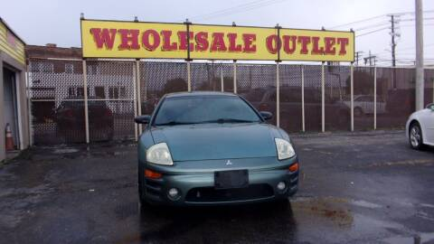 2005 Mitsubishi Eclipse for sale at LONG BROTHERS CAR COMPANY in Cleveland OH