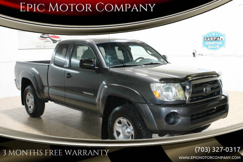 2010 Toyota Tacoma for sale at Epic Motor Company in Chantilly VA