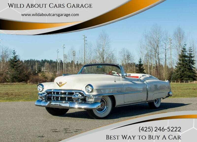 1953 Cadillac Eldorado for sale at Wild About Cars Garage in Kirkland WA