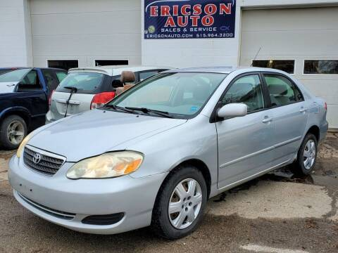 2006 Toyota Corolla for sale at Ericson Auto in Ankeny IA