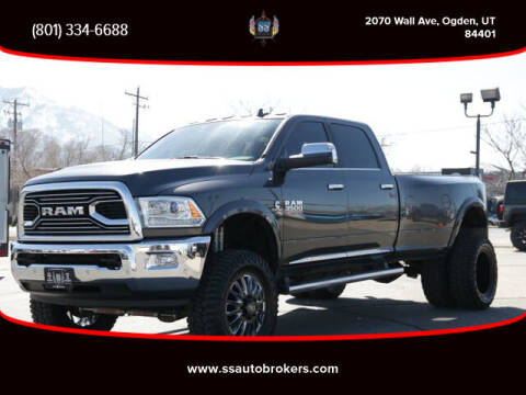 2018 RAM Ram Pickup 3500 for sale at S S Auto Brokers in Ogden UT