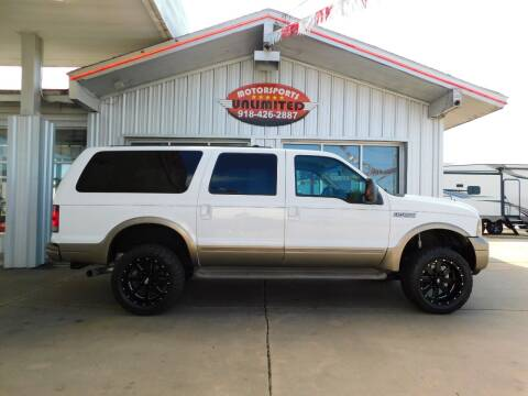 2005 Ford Excursion for sale at Motorsports Unlimited in McAlester OK