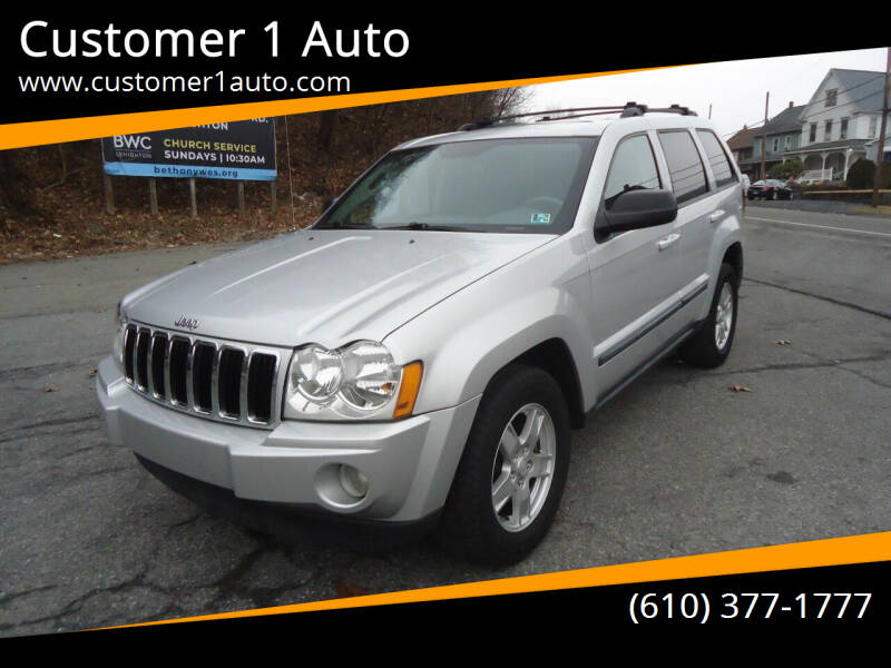 2007 Jeep Grand Cherokee for sale at Customer 1 Auto in Lehighton PA