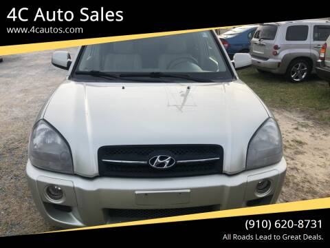 2007 Hyundai Tucson for sale at 4C Auto Sales in Wilmington NC