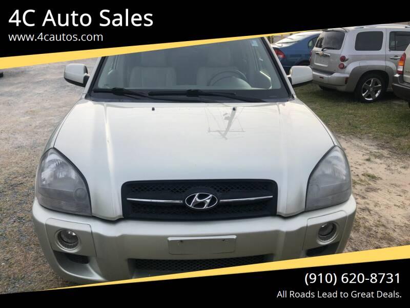 2007 Hyundai Tucson for sale at 4C Auto Sales in Wilmington NC