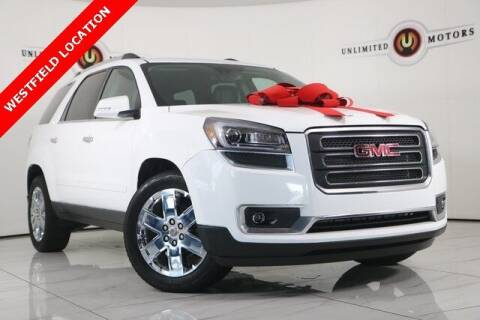 2017 GMC Acadia Limited for sale at INDY'S UNLIMITED MOTORS - UNLIMITED MOTORS in Westfield IN