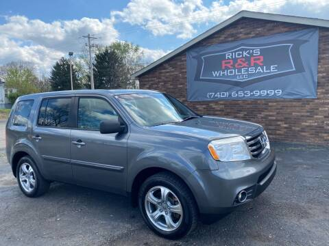 2012 Honda Pilot for sale at Rick's R & R Wholesale, LLC in Lancaster OH
