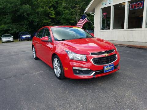 2015 Chevrolet Cruze for sale at Fairway Auto Sales in Rochester NH