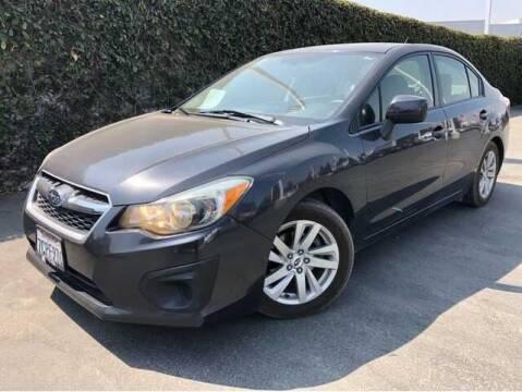 2013 Subaru Impreza for sale at WS AUTO SALES INC in El Cajon CA