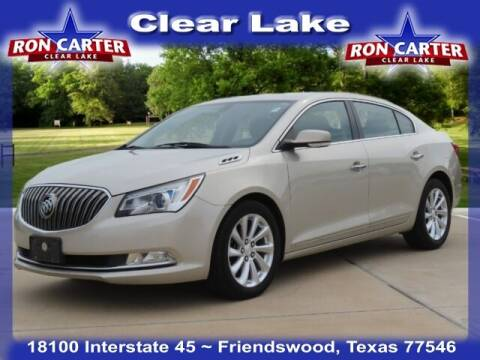 2014 Buick LaCrosse for sale at Ron Carter  Clear Lake Used Cars in Houston TX