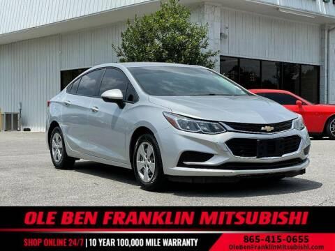 2018 Chevrolet Cruze for sale at Ole Ben Franklin Mitsbishi in Oak Ridge TN