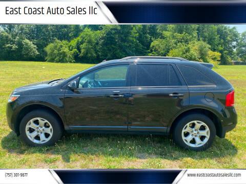 2013 Ford Edge for sale at East Coast Auto Sales llc in Virginia Beach VA