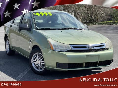 2008 Ford Focus for sale at 6 Euclid Auto LLC in Bristol VA