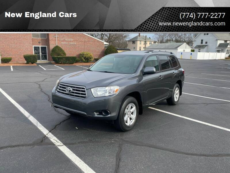 2010 Toyota Highlander for sale at New England Cars in Attleboro MA
