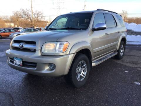 2007 Toyota Sequoia for sale at Sparkle Auto Sales in Maplewood MN