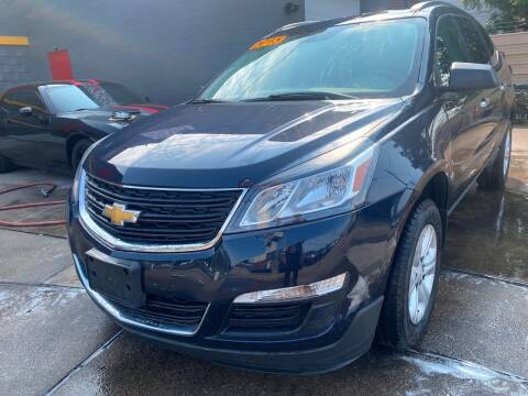2015 Chevrolet Traverse for sale at Matthew's Stop & Look Auto Sales in Detroit MI