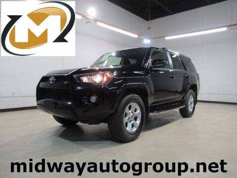 2019 Toyota 4Runner for sale at Midway Auto Group in Addison TX