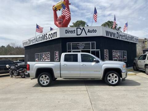 2015 GMC Sierra 1500 for sale at Direct Auto in D'Iberville MS