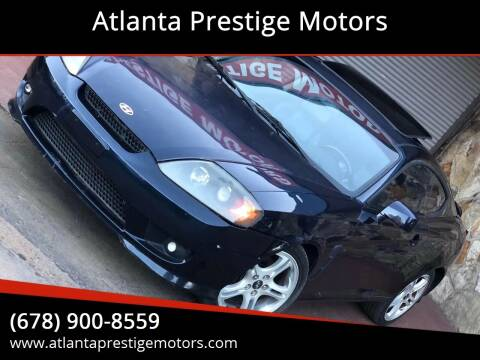 2005 Hyundai Tiburon for sale at Atlanta Prestige Motors in Decatur GA