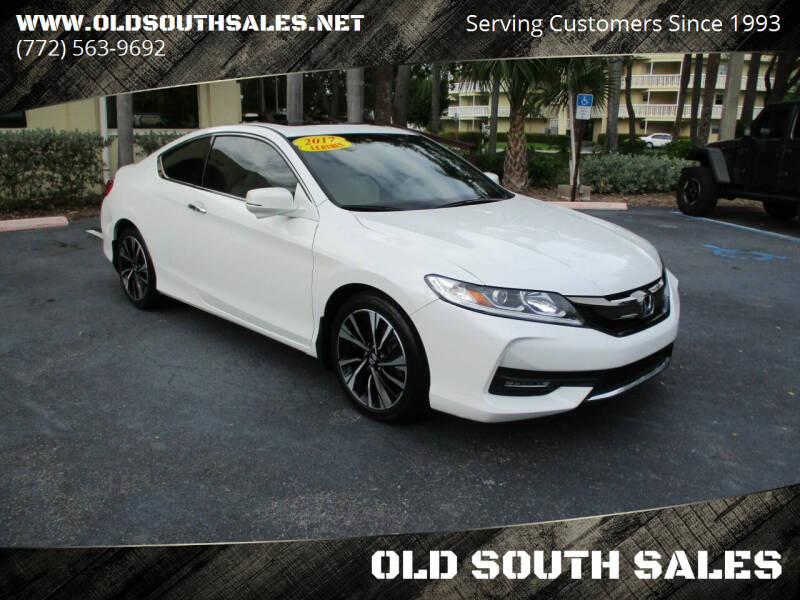 2017 Honda Accord for sale at OLD SOUTH SALES in Vero Beach FL