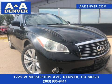 2011 Infiniti M56 for sale at A & A AUTO LLC in Denver CO