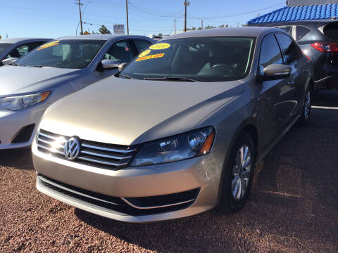 2015 Volkswagen Passat for sale at SPEND-LESS AUTO in Kingman AZ