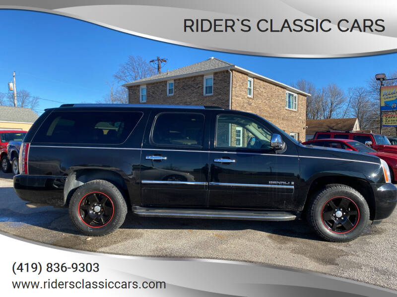 2009 GMC Yukon XL for sale at Rider`s Classic Cars in Millbury OH