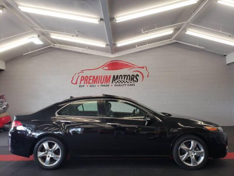 2012 Acura TSX for sale at Premium Motors in Villa Park IL
