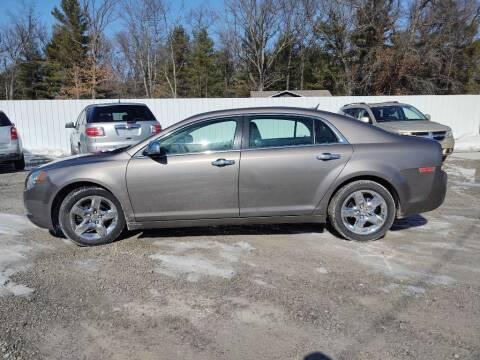 2011 Chevrolet Malibu for sale at Hilltop Auto in Clare MI