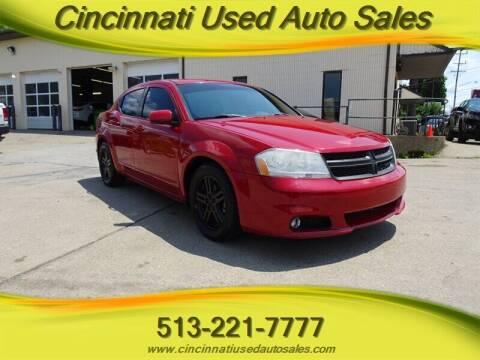 2013 Dodge Avenger for sale at Cincinnati Used Auto Sales in Cincinnati OH