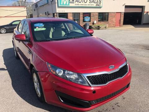 2011 Kia Optima for sale at MR Auto Sales Inc. in Eastlake OH
