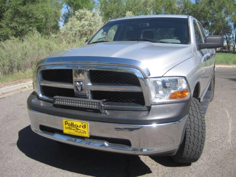 2012 RAM Ram Pickup 1500 for sale at Pollard Brothers Motors in Montrose CO