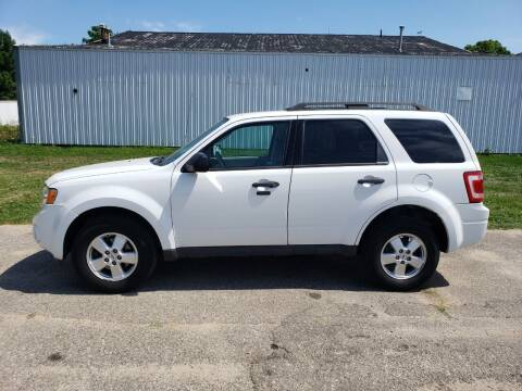 2012 Ford Escape for sale at Steve Winnie Auto Sales in Edmore MI