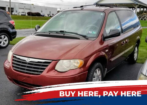 2007 Chrysler Town and Country for sale at Lancaster Auto Detail & Auto Sales in Lancaster PA