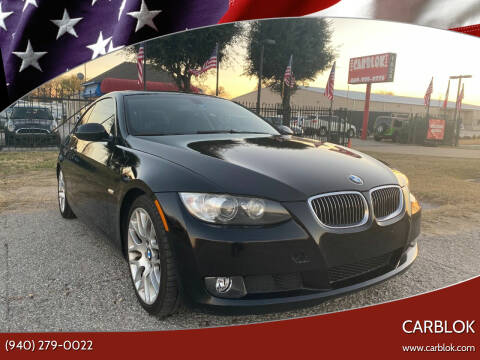 2009 BMW 3 Series for sale at CARBLOK in Lewisville TX