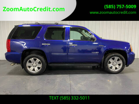 2010 GMC Yukon for sale at ZoomAutoCredit.com in Elba NY