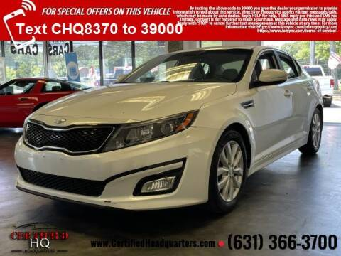 2014 Kia Optima for sale at CERTIFIED HEADQUARTERS in Saint James NY