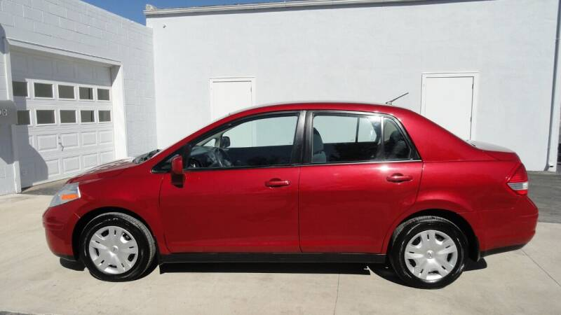 2011 Nissan Versa for sale at WRIGHT'S in Hillsboro KS