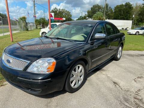 2006 Ford Five Hundred for sale at Massey Auto Sales in Mulberry FL