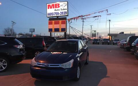 2009 Ford Focus for sale at MB Auto Sales in Oklahoma City OK