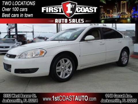 2008 Chevrolet Impala for sale at 1st Coast Auto -Cassat Avenue in Jacksonville FL