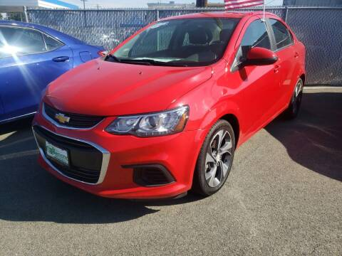 2018 Chevrolet Sonic for sale at Artistic Auto Group, LLC in Kennewick WA
