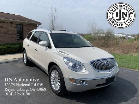 2012 Buick Enclave for sale at IJN Automotive Group LLC in Reynoldsburg OH